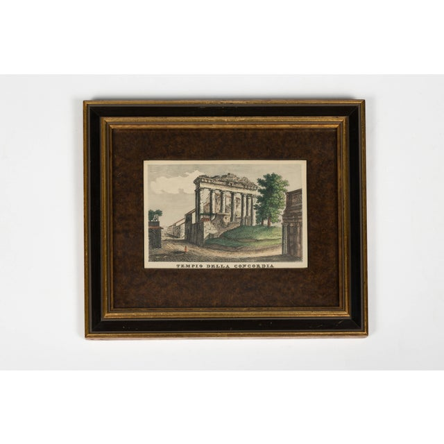 Mid 18th Century Four 18th Century Classical Prints of Rome For Sale - Image 5 of 7