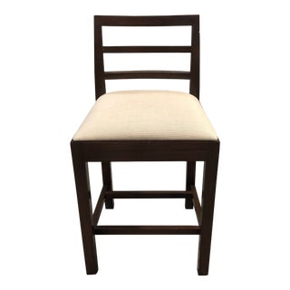 Dara Modern Oak Counter Stool For Sale