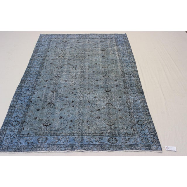 Vintage Overdyed Turki̇sh Rug - 5′8″ × 9′4″ - Image 4 of 8