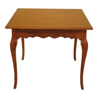Habersham Country French Square Breakfast Table