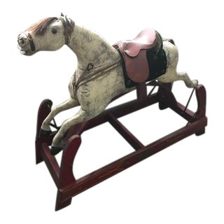19th Century Antique Rocking Horse For Sale