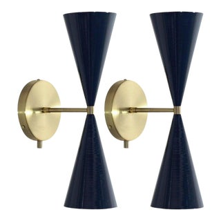 """""""Tuxedo"""" Wall Sconces For Sale"""