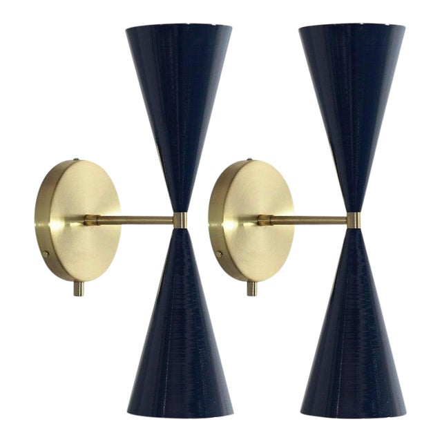 """Tuxedo"" Wall Sconces For Sale"