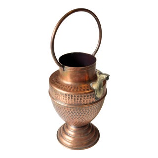Copper Watering Can Water Dispenser With Brass Spout For Sale