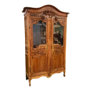 Late 19th Century Century Antique French Armoire For Sale