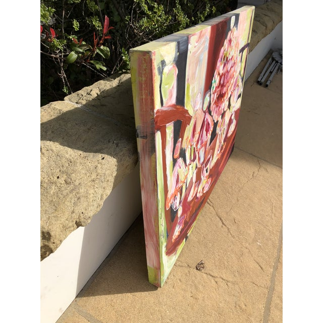 Canvas Abstract Candy Jar Oil Painting For Sale - Image 7 of 9