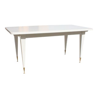 Stunning French Art Deco Mother-of-Pearl Dining Table or Writing Desks Circa 1940s
