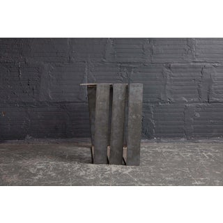 Spencer Staley Steel Spiral Side Table / Bench Preview