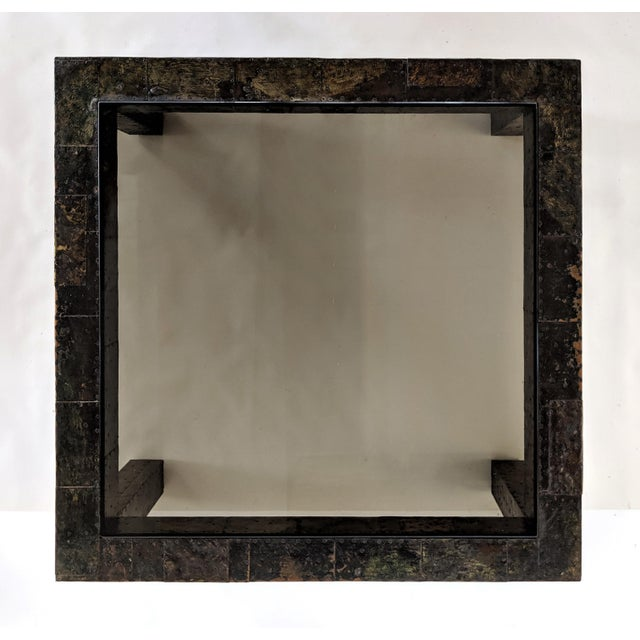 Paul Evans 1960s Mid-Century Modern Paul Evans Brutalist Mixed Metals Patchwork Coffee Table For Sale - Image 4 of 11