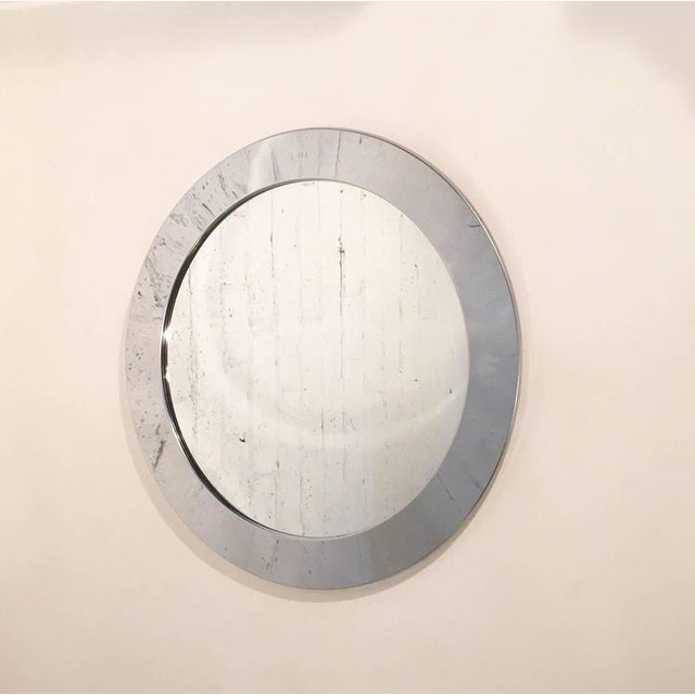 1970s Chrome Mirror by Curtis Jeré for Artisan House For Sale In Palm Springs - Image 6 of 6