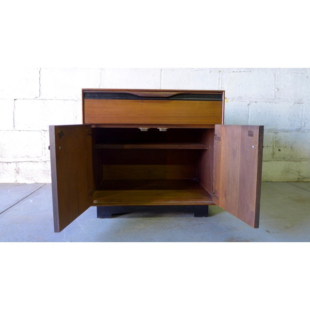 John Stuart Mid-Century Modern Nightstand Cabinet - Image 4 of 6