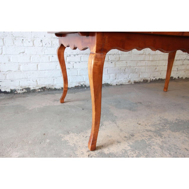 Baker Furniture Milling Road Coffee Table: Baker Furniture Milling Road Country French Maple