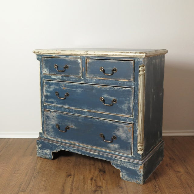 Antique Painted Chest of Drawers - Image 3 of 10