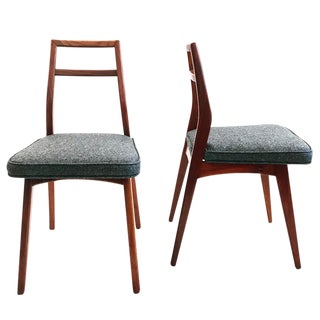 Set of 8 Vladimir Kagan Dining Chairs