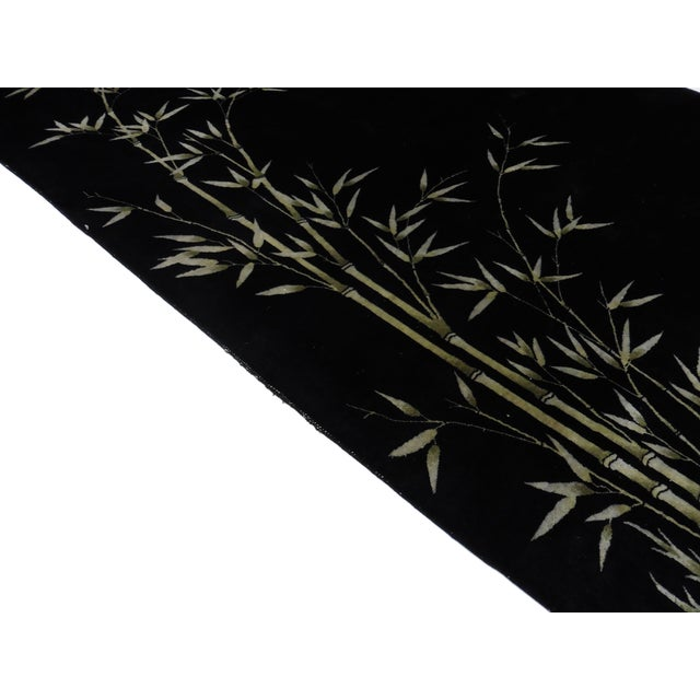 RugsinDallas Black Chinese Art Deco Rug - 8′10″ × 11′4″ For Sale - Image 4 of 5