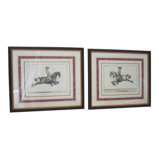 La Pe Gase and La Dificle Prints - A Pair For Sale