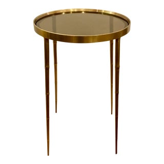 Asian Modern Barbara Barry for Henredon Coco Accent Table For Sale