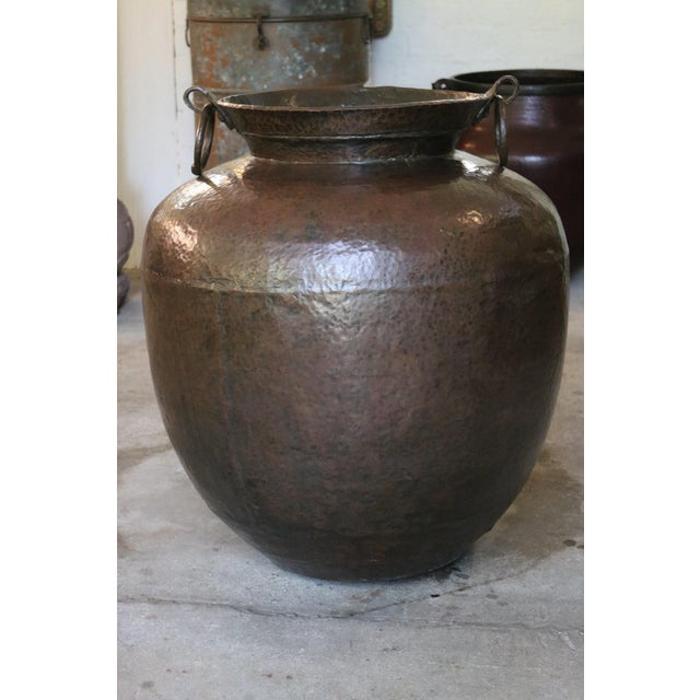 1900 - 1909 Copper Pot For Sale - Image 5 of 5