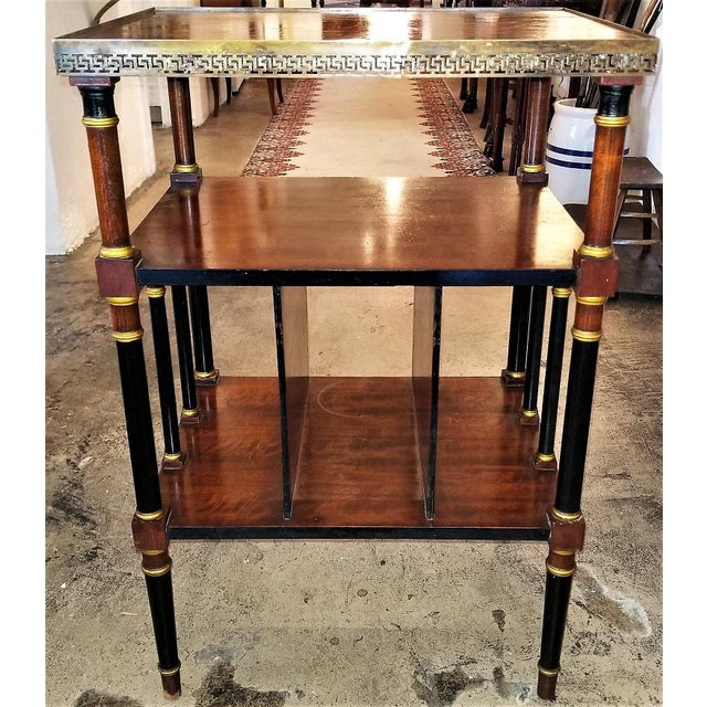 Empire Style Canterbury Side Table For Sale - Image 10 of 13