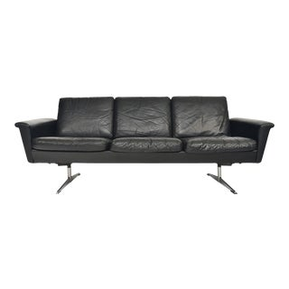 Georg Thams Space Age Sofa in Leather For Sale