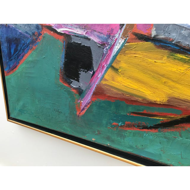 Sublime Modern Abstract Painting For Sale - Image 4 of 13