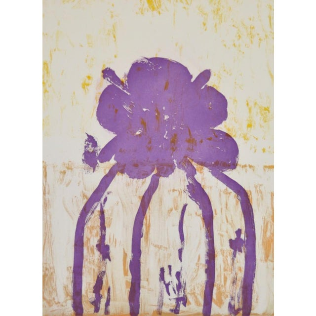"Abstract Arthur Krakower ""Atherton"" Original Monotype C.2004 For Sale - Image 3 of 6"