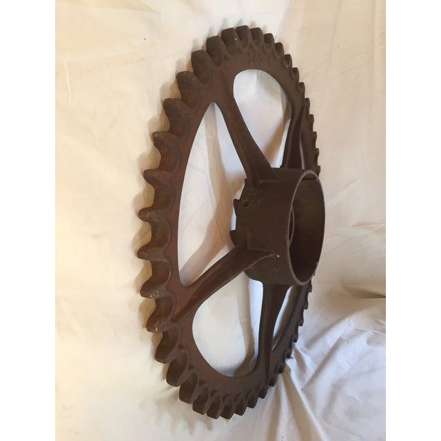 Antique California Gold Country Mining Sprocket - Image 7 of 7