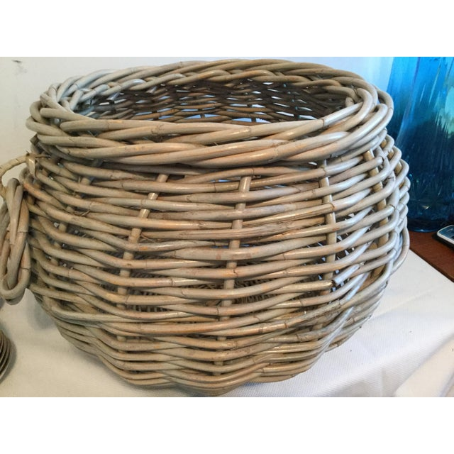 1990s Contemporary Decorative Basket For Sale In Columbia, SC - Image 6 of 7