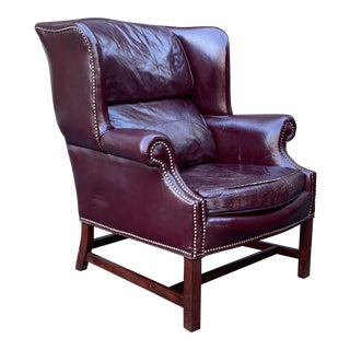 Lone Star Leather Wingback For Sale