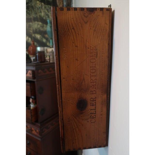 Vintage Decorative Wall Hanging Shelf - Image 4 of 5