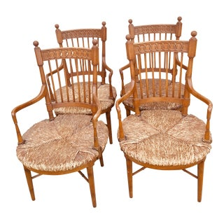 1950s Vintage Tomlinson Dining Chairs- Set of 4 For Sale