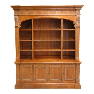 Ethan Allen Legacy French Country Bookcase For Sale