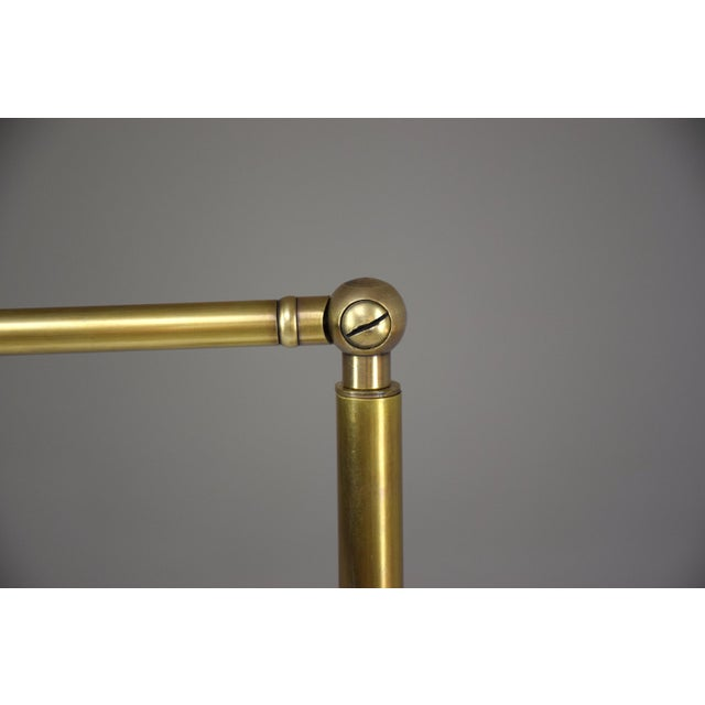 Brass 20th Century French Brass Floor Lamp, 1960's For Sale - Image 8 of 12