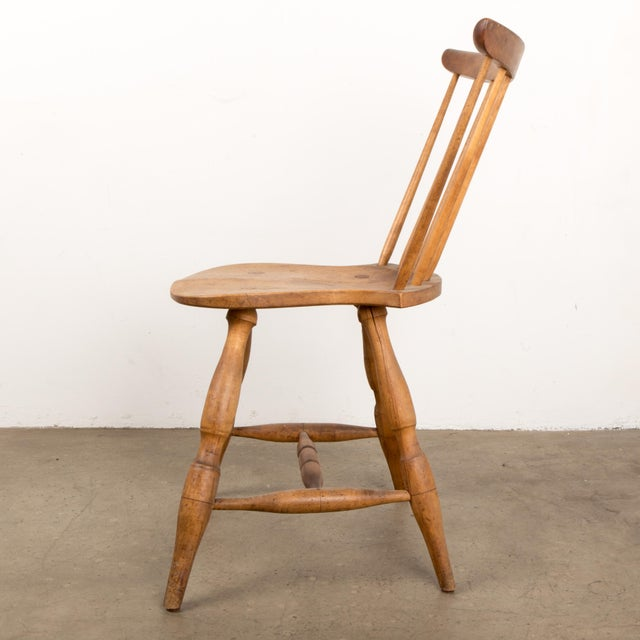 Danish Modern Small Danish Shaker Style Windsor Chair For Sale - Image 3 of 12