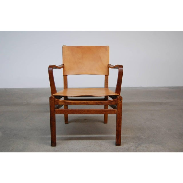 Mid-Century Modern Lounge Chair Designed by Axel Einar Hjorth For Sale - Image 3 of 7