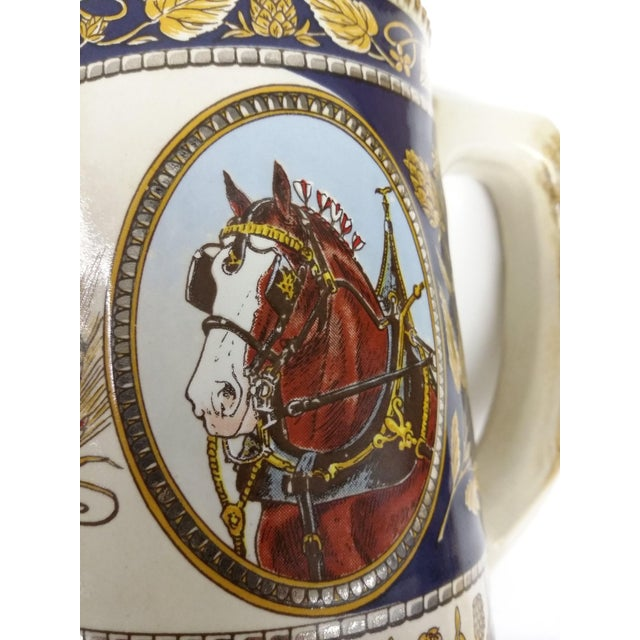 Vintage Anheuser Busch Stoneware Beer Stein For Sale - Image 7 of 8