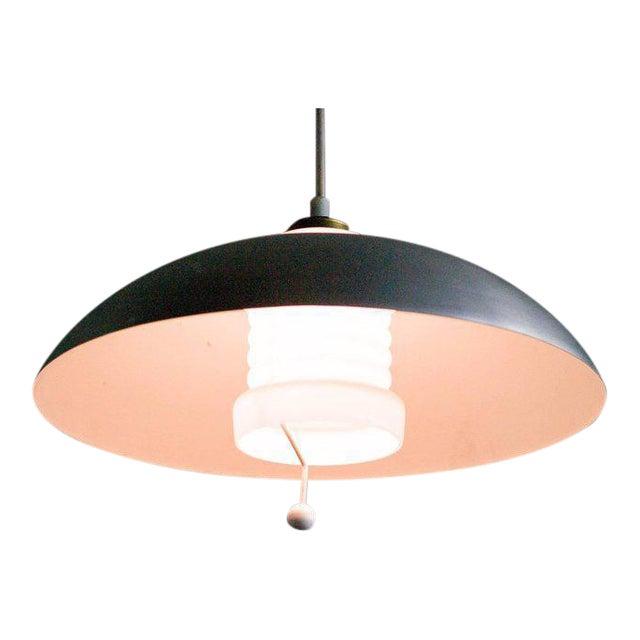 Counterbalance Pendant Lamp by Nordiska Kompaniet, (Nk), Sweden, 1950s For Sale