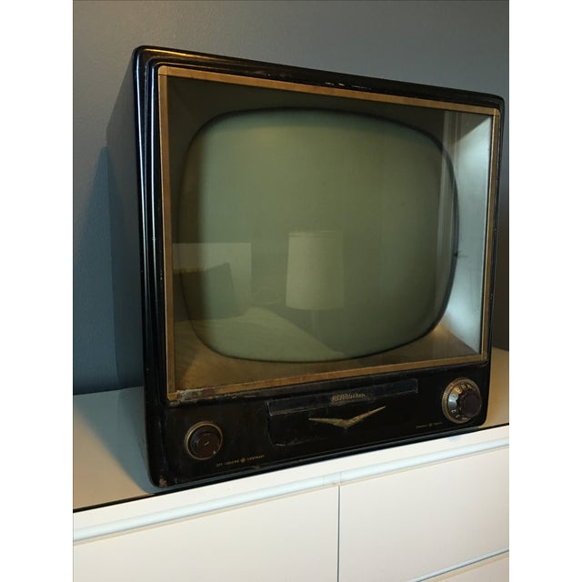 1950s Rca Television in Rare Black Metal Case - Image 3 of 8