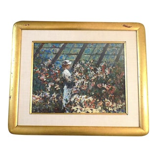 Original Vintage Impressionist Oil/Board-Signed-Listed American Artist-Donald Roy Purdy For Sale