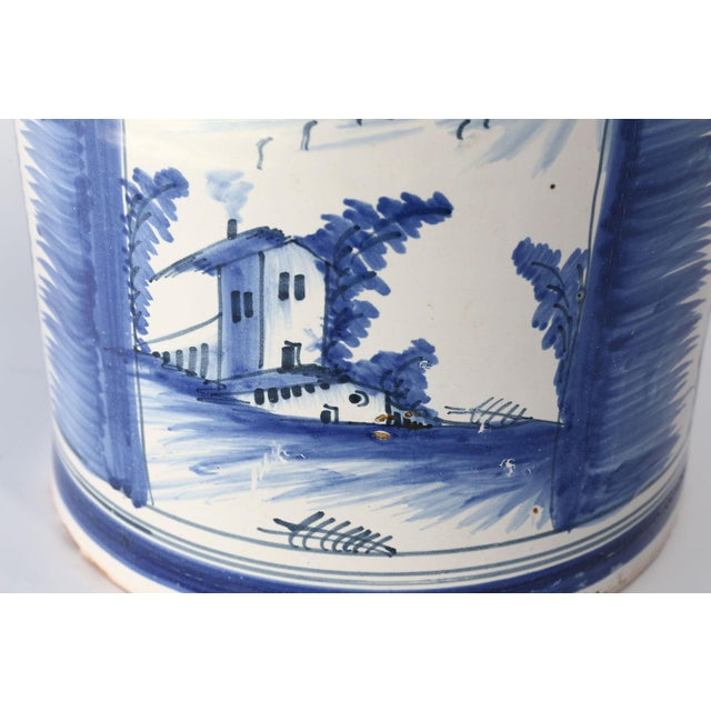 Mid 18th Century Nevers Faience 'Pot a Oranger' For Sale - Image 5 of 13