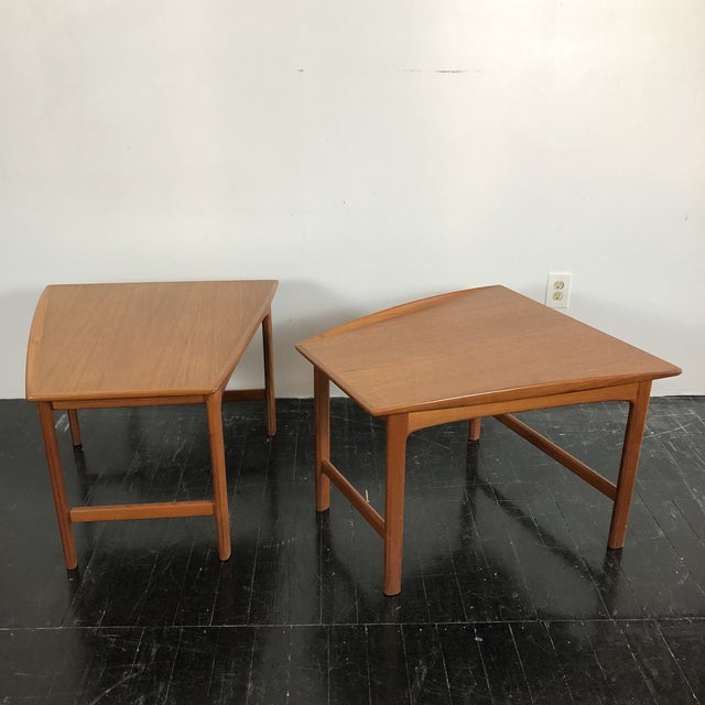 1960's Teak Frisco Designed by Folke Ohlsson Tables - a Pair For Sale - Image 13 of 13