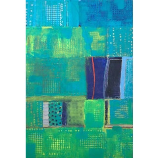 Christine Averill - Green, a Million Stories in the Big City, 2017 For Sale