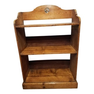 1900s Antique Pine Bookcase For Sale