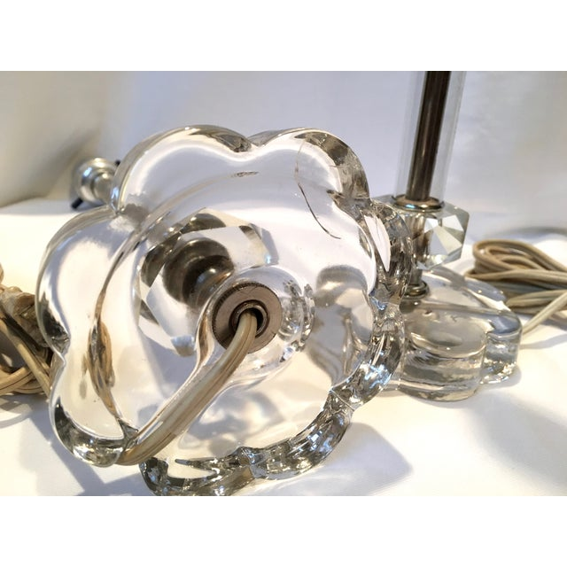 Vintage Glass Lamps - Pair - Image 3 of 8