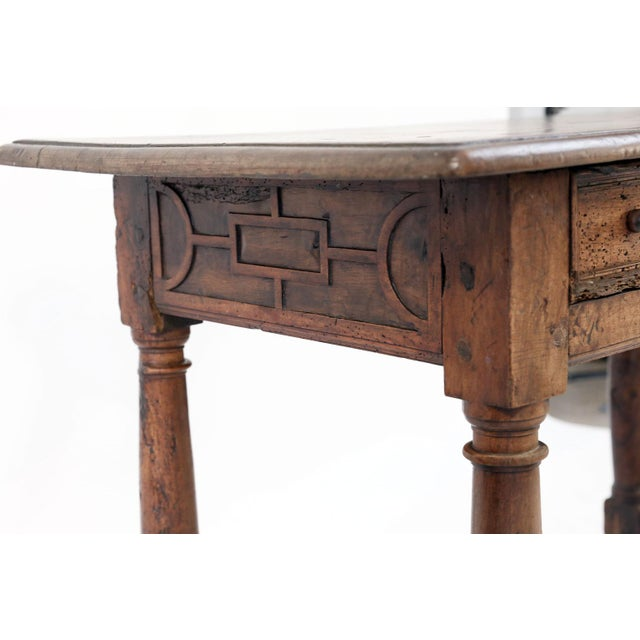 Early French Walnut Table For Sale - Image 11 of 13
