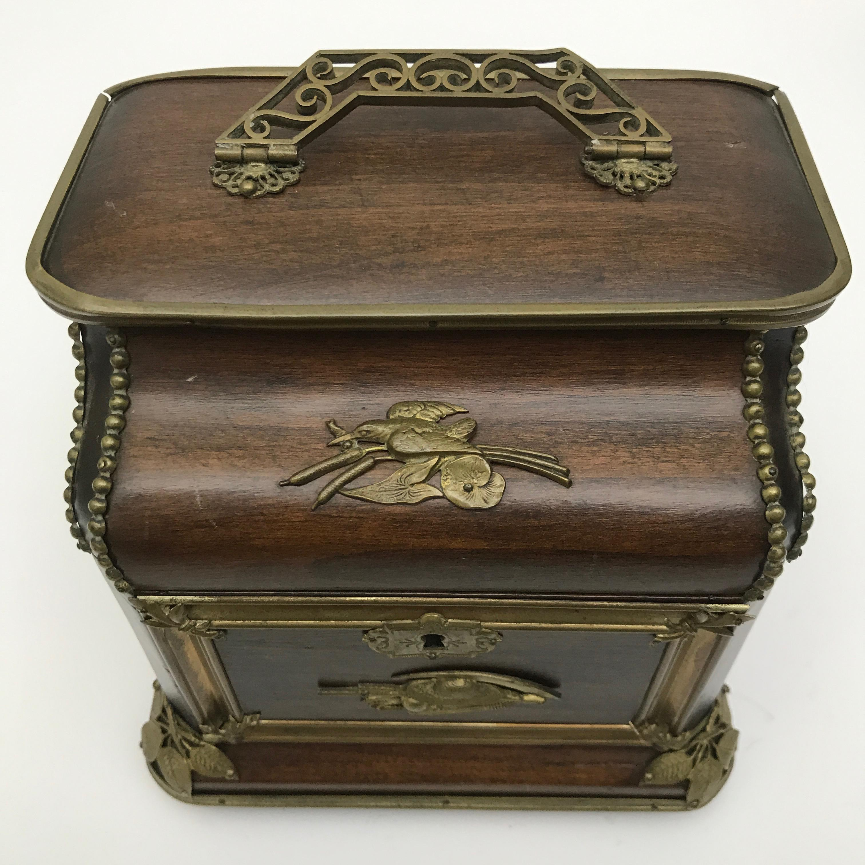 Antique French Jewelry Box Chairish