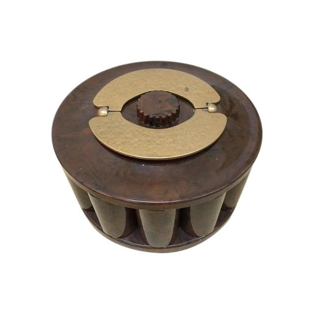 "Vintage Bakelite ""TurnIt"" Poker Chip Caddy - Image 1 of 6"