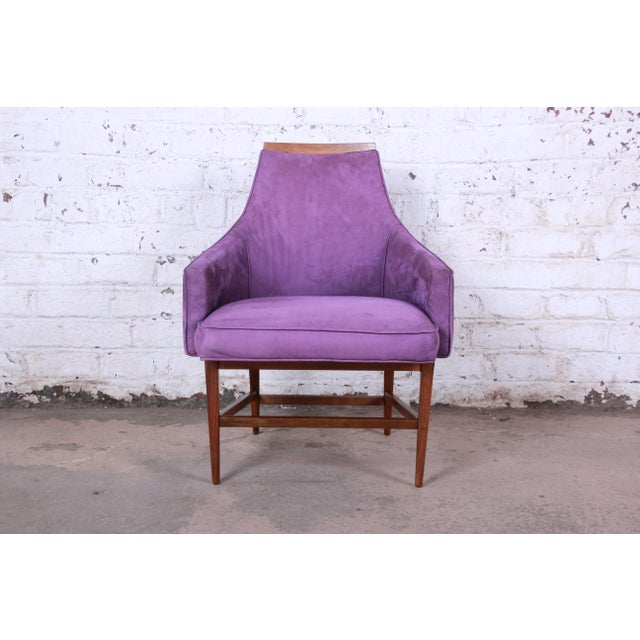 1960s Kipp Stewart for Directional Mid-Century Modern Lounge Chairs - a Pair For Sale - Image 5 of 13