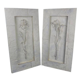 1990s Vintage Casey Collection Architectural Wall Panels - A Pair For Sale