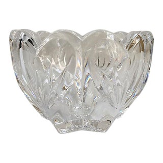 Vintage Waterford Crystal Catchall Bowl For Sale